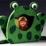 frog photo frame