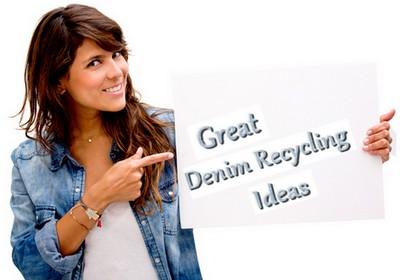 great denim recycling ideas