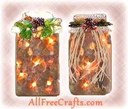illuminated potpourri jars