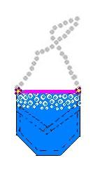 pocket purse diagram