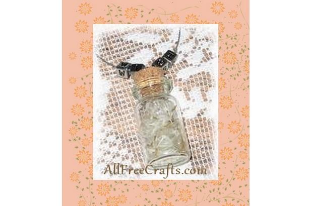 dandelion wishes in a jar