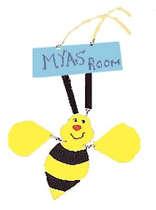 bee door sign