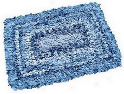 denim rug after washing