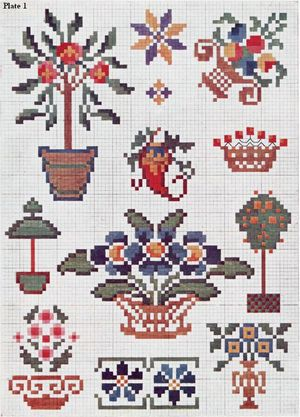 priscilla cross stitch plate 1 thumbnail
