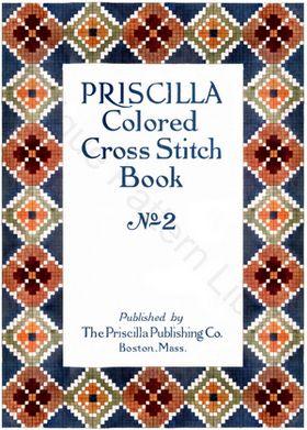 Priscilla Cross Stitch Book No. 2 Cover