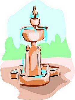 simple fountain
