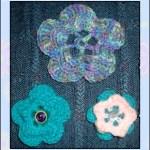 3 flowers in 1 crochet pattern