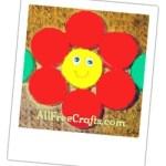 flower magnet from pop bottle caps