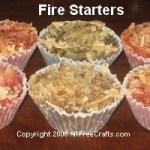 Wax Fire Starters