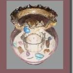 Fish Bowl Sea Candle