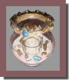 fish bowl candle