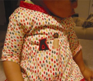 toddler smock pattern