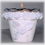 Rose Pot Candle