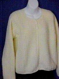 adult jiffy cardigan