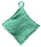 knitted kettle or pot holder