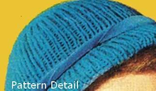 knit hat detail