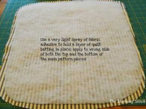 morning stitch chair pad tutorial