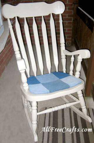 rocking chair pad