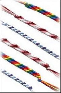 embroidery floss bracelets
