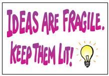 ideas are fragile