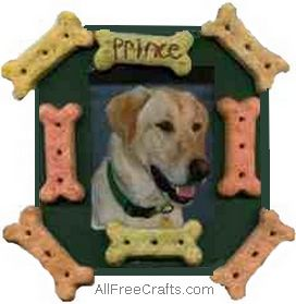 pet treat photo frame