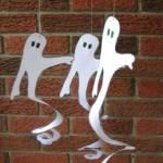 Printable Spiral Ghosts