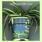 Paints Pots and Propagated Plants