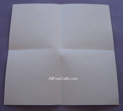 secret paper Valentine - first folds