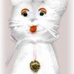 Hand Towel Kitten