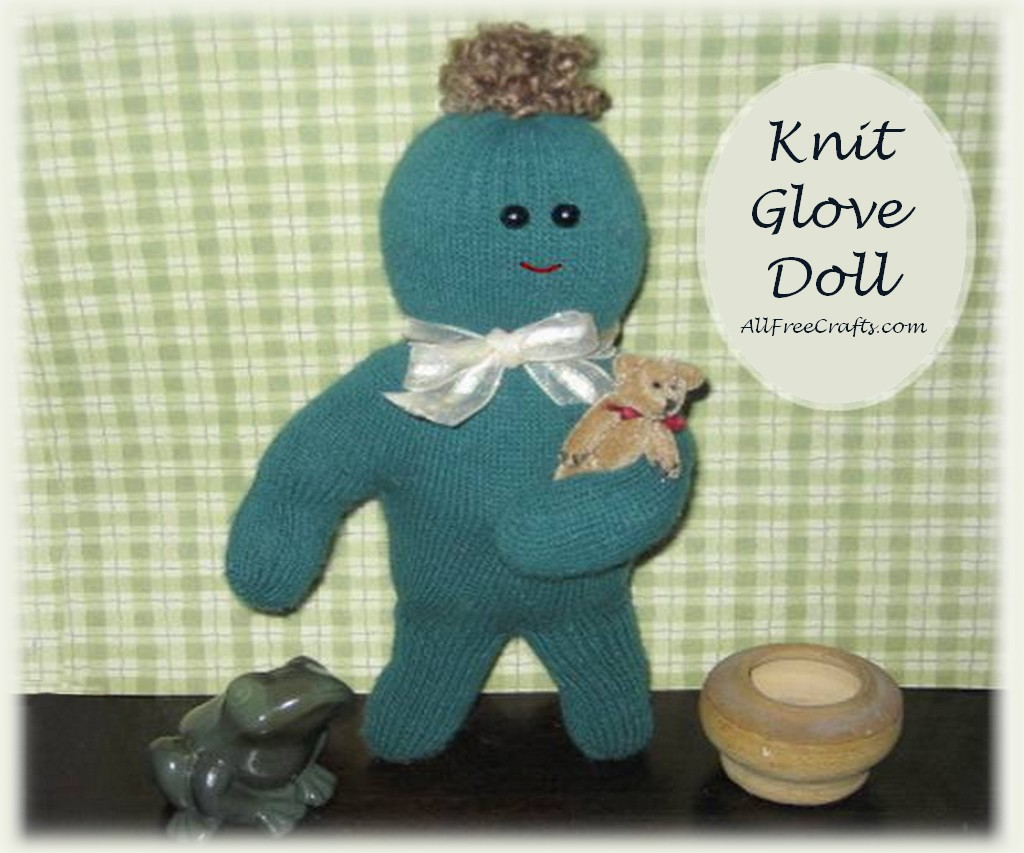 how to make a glove doll