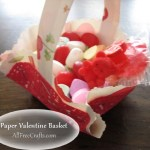 Paper Valentine Baskets