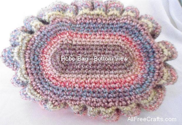 hobo bag - bottom view