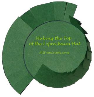 top of leprechaun top hat