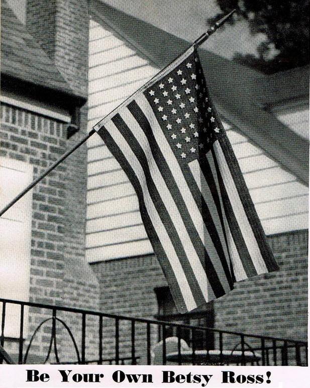 betsy ross american flag crochet pattern