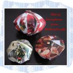 Christmas Card Strip Ornaments