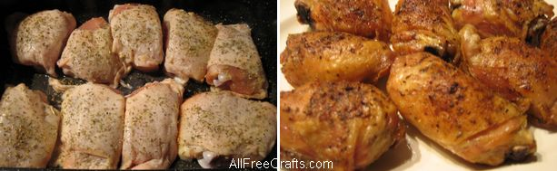 garlic herb chicken