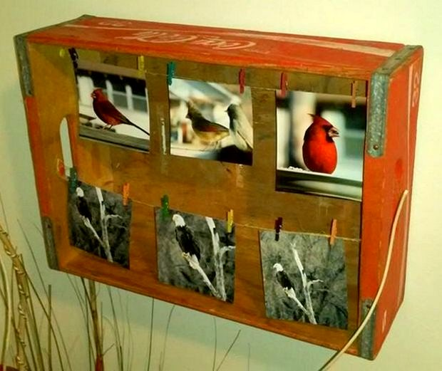 Coca Cola Crate Picture Frame All Free Crafts