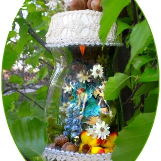 fairies in a jar