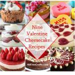 valentine cheesecake recipes