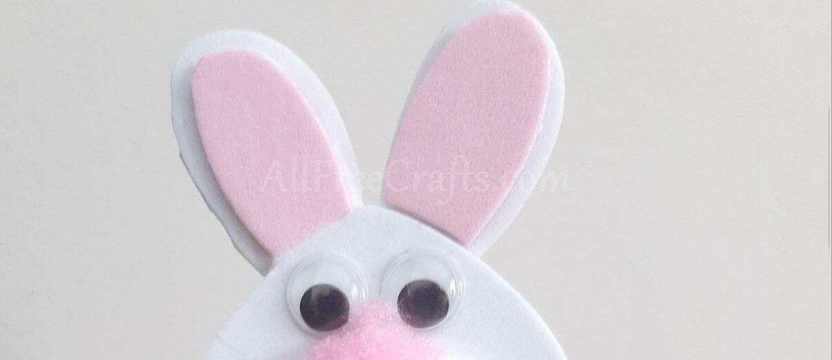 foam bunny ears detail