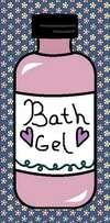 bath gell pink