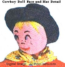 cowboy doll face