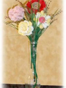crochet a bouquet