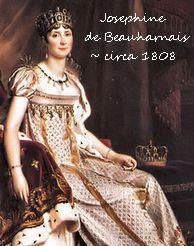 Empress Josephine crocheted doll