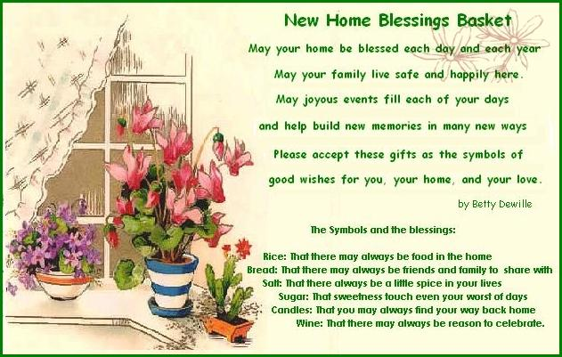 Irish Blessing On Move To New Home