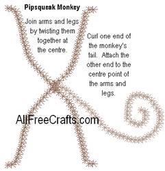pipsqueak monkey detail