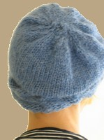 Knitted Cable Ski Hat