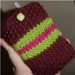 cellphone cozy detail