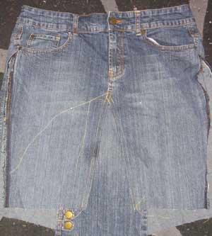 denim skirt pattern 1936