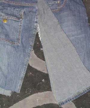 denim skirt pattern 1942